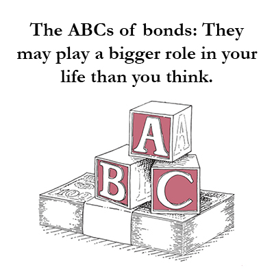 Bonds are an important part of a diversified investing strategy. Investing in bonds is fundamentally different than investing in stocks, and understanding that difference is essential for long term risk management. McRae Capital Management is here to help you in understanding bond investments.