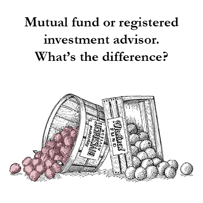When comparing a Registered Investment Adviser RIA vs Mutual Funds, it's not an apples to apples comparison. McRae Capital wants you to know the difference.