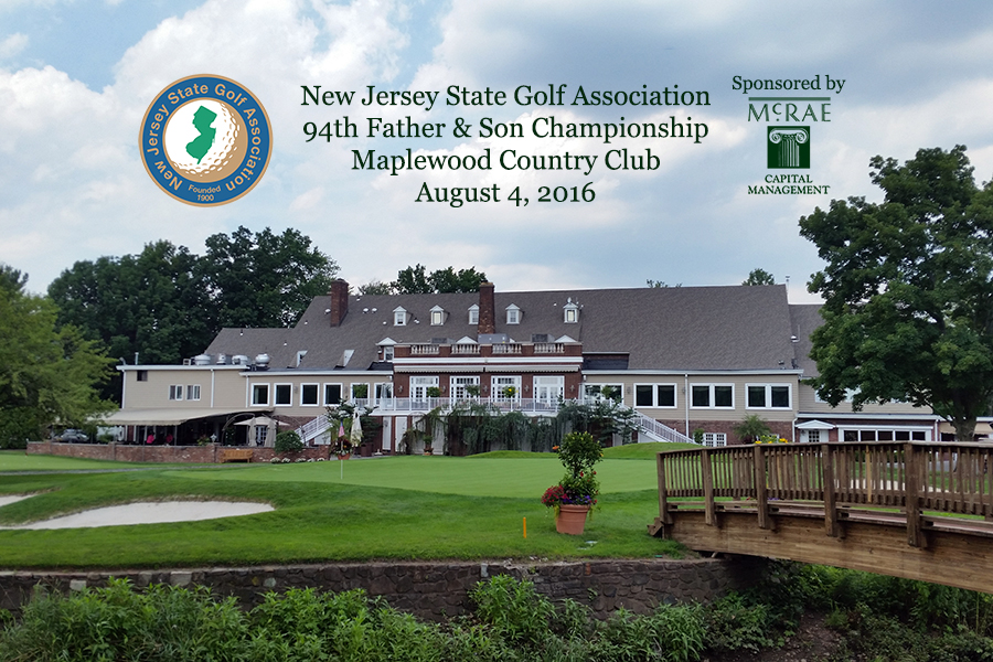94th NJSGA Father & Son Championship at Maplewood in 2016