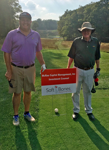 Roddy McRae and Rod McRae at the 2017 Soft Bones fundraiser at Somerset Hills Country Club